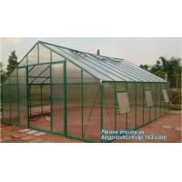 Quality Mini Walk In 3 tiers 6 Shelves Greenhouses Portable Plastic Outdoor Green House,Agricultural Green House or Chicken Farm for sale