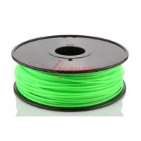 Quality Makerbot UP 3D Printer 3MM PLA Filament Fluorescent Green , 3D Printing Filament for sale