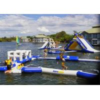 Quality Durable Giant Airtight Outdoor Inflatable Water Toys For Kids , EN14960 for sale