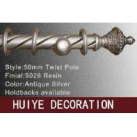 Buy Antique Silver Twist Pole( Curtain Tracks / Curtain Rods ) at wholesale prices