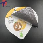 Quality Food Grade Aluminium foil sealing lids for yogurt packaging,yogurt cup sealing aluminium lids for sale
