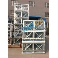 Quality Red Painted Double Cage Man And Material Hoist 1600kg , Building Materials Lift for sale