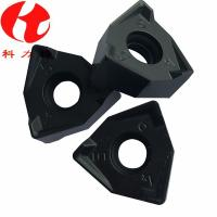 Quality XNEX080608 Indexable Carbide Milling Inserts Black / Yellow Appearance Compact Size for sale