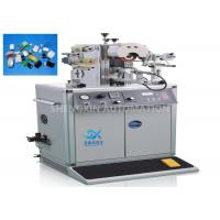 Quality Oval Shape Caps Hot Foiling Machine , Semi - Auto Heat Stamping Machine for sale