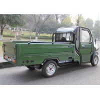 Quality Hand Foot Brake Electric Cargo Tricycle 60V3000W Motor Green Power Disc Brake for sale