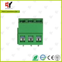Quality Electrical terminal block Wire Range 26- 14 AWG -40℃ ~ +105℃ Temprature for sale