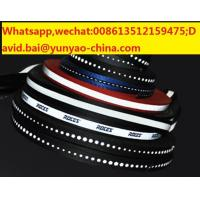 Quality reflective polyester tape sewed on reflective fabric tape for safety clothes for sale