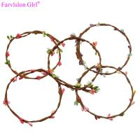 China Fashion silicone baby american girl doll hair accessories flower belt wholesale china on sale