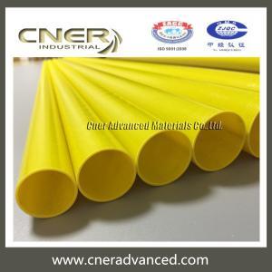 Quality Insulated fiberglass telescopic pole 46 feet for glass washing, long reach rescue pole, fibreglass warning pole for sale