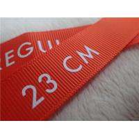 Quality Washable Screen Printing Tagless Labels  , Printed Labels For Clothing for sale