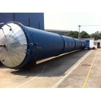 Quality High Temperature Wood Autoclave double Doors For wood Industrial , Φ2.7mX22M for sale