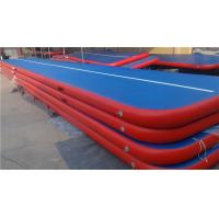 Quality Doubla Wall Fabric Inflatable Air Track Air Mattress Gymnastics Weather Proof for sale