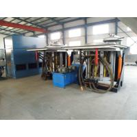 China 1 ton Steel shell Induction Melting Furnace on sale