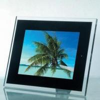 Quality 8-inch Digital Photo Frame with 800 x 600 Resolution Pixels and Infrared Remote Control Function for sale