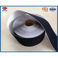 Quality Black Soft Thin Double Sided Self Adhesive Hook And Loop Tape Roll With Glue for sale
