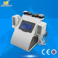 Ultrasonic Cavitation Vacuum Liposuction Laser Bipolar Roller Massage RF Beauty Machine