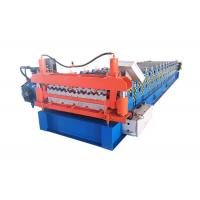 Quality Two Designs Roofing Sheets Roll Forming Machine Size 6500*1500*1500mm Weight 4.5 Tons for sale