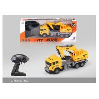 Quality 27 MHz Frequency Mini RC Remote Control Excavator Toy For Kids Role Play for sale
