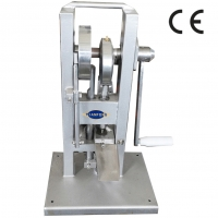 Quality Hand type manual lab single punch press tdp0 TDP with stamp mold die set for sale