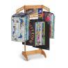 Buy cheap Custom Retail Store, convenience store Display MDF / wood flooring Rack multi from wholesalers