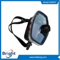 Quality Manufacture hot sale black silicone diving mask for sale