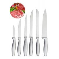 6 PCS Stainless Steel Knife Set Customized Logo Corrosion Resistance