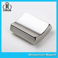 Quality Permanent Neodymium Arc Magnets Wind Generator Magnet High Consistancy for sale