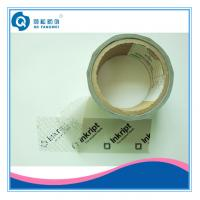 Quality Single Side Security Tamper Evident Tape , Carton Clear Packing Tape for sale