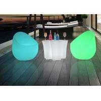 Quality Outdoor Commercial Outdoor Indoor LLED Bar Table , Plastic Lighted Bar Tables for sale