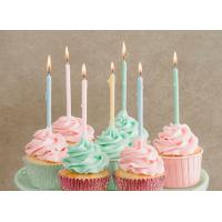 12 Pcs Long Birthday Cupcake Candle Skinny Candles Eco Friendly