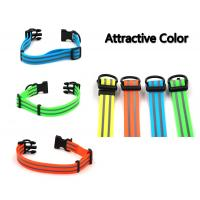China Pet Safety Waterproof Reflective Dog Collars PVC Eco Friendly Material on sale