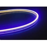 Quality Pure Silicone 2835 SMD LED Flexible Strip Rope Lights , 6 x 12MM IP67 Waterproof for sale