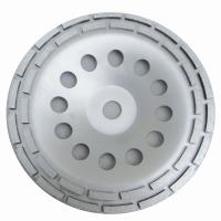 Buy cheap Double Row Diamond Grinding Cup Wheel for grinding concrete / 7 inch diameter from wholesalers