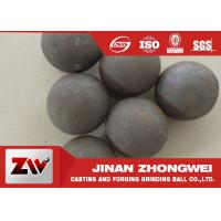 Quality Good wear resistance Mineral Processing Forged Grinding Ball Dia 25-125mm for sale