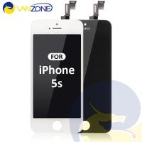 Quality Anti - Fingerprints IPhone 5s  Iphone LCD Screen With Tempered Glass Cover for sale