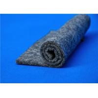 Quality Dark/Light Grey Non Woven Polyester Felt Industrial Felt By The Yard 4mm Thick for sale