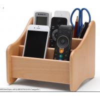 Buy Decorative Wood  Desk Organizer For Home Remote Controls / Phone at wholesale prices