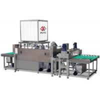 Buy cheap 2500 mm Architecture Glass Cleaning Machine / Glass Processing Machinery from Wholesalers