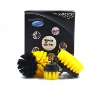China Portable Drill Cleaning Brush Power Scrubber Drill Attachment Brush Set on sale