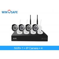 China 2.0 Megapixel Bullet Wireless IP Camera System , 4 Camera Wireless Security System on sale