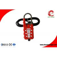 Quality Industrial Safety Hasp Cable Wire Lockouts,Hasp Combination Cable Lock for sale