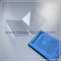 China Clear Plastic Book Cradle/Acrylic Book Holder on sale