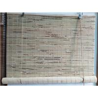 China natural roll up bamboo blind on sale