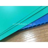 Quality Waterproof Flute Plastic PP Hollow Sheets Printed Sign Polypropylene Protection for sale