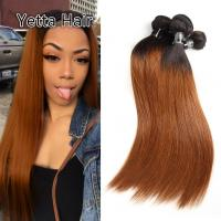Quality Comfortable 1B/30# Color Human Ombre Hair Extensions For Women CE BV SGS for sale