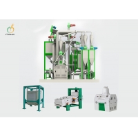 Quality 40 Ton Per Day Corn Flour Mill Machine Industrial Maize Processing Plant for sale
