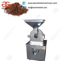 Quality China Manufacturing Excellent Performance Cocoa Chocolate Powder Grinding Machine for sale