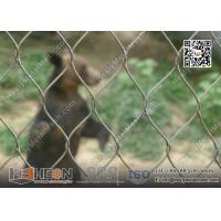 China 316L Stainless Steel Wire Cable Animal Cage for Zoo Enclosure | China Zoo Mesh Factory on sale