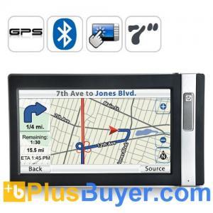 "Quality Navigo - 7"" Touch Screen GPS Navigator (SiRF Star III Receiver Module) for sale"