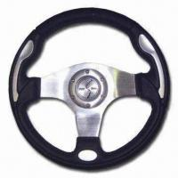 Buy cheap Black Steering Wheel, Crafted from Finest and Most Rugged Materials from wholesalers